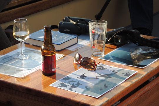 Drankjes aan boord