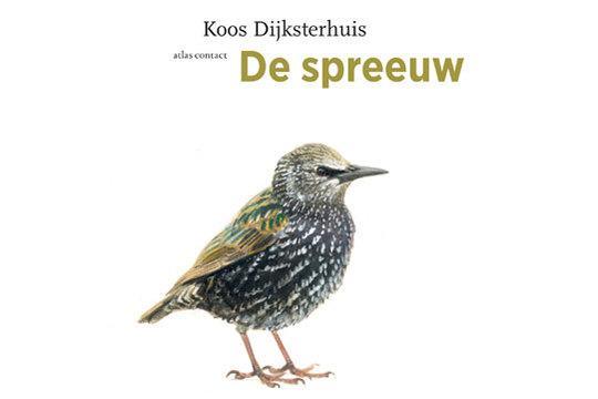 Boek cover de spreeuw, door Koos Dijksterhuis