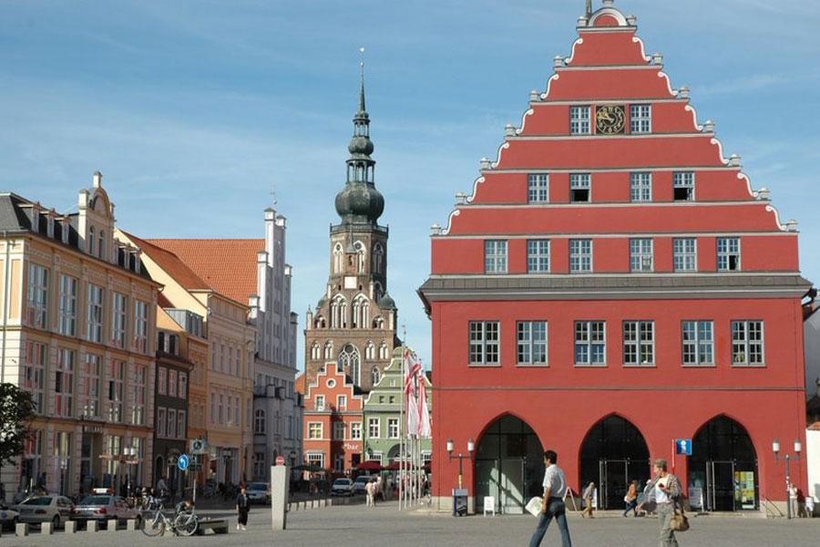 Greifswald Stadhuis